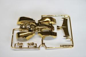 リアルミニ四駆 バックブレーダー ゴールドボディ