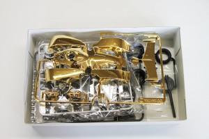 リアルミニ四駆 バックブレーダー ゴールドボディ10